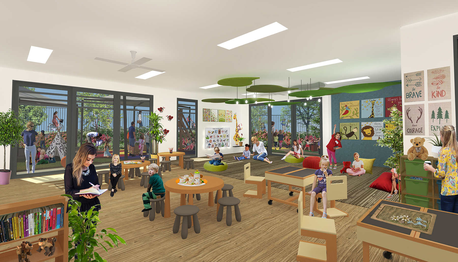 Grow Childcare centre internal view